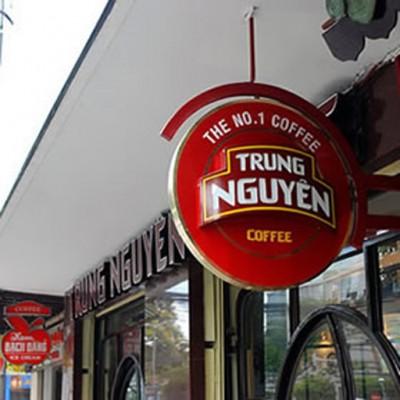 Hộp đèn cafe Trung Nguyên