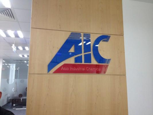 Logo mica ghếp 2 lớp