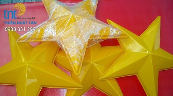 Ép nổi 3D hình ngôi sao