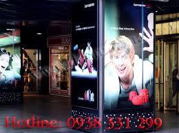 Hộp đèn quảng cáo trong hiêu thị