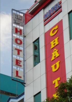 Bảng Alu Khách sạn Châu Thiên Tú